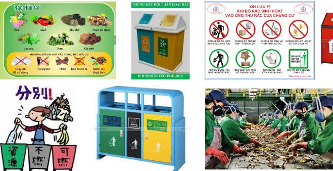 Phân loại rác thải tại nguồn