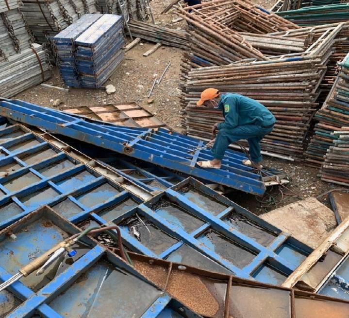 Thu mua sắt thép công trình
