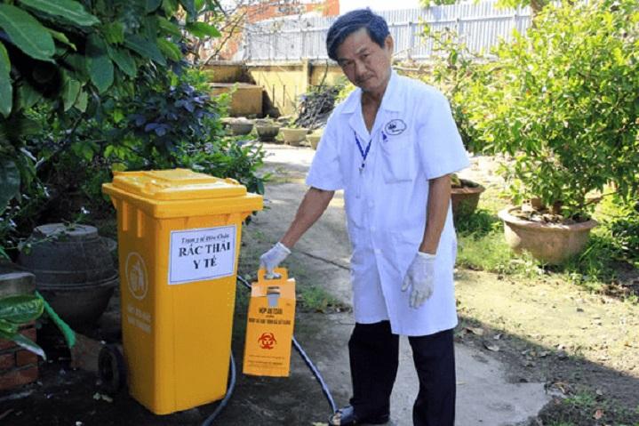thu gom chất thải y tế