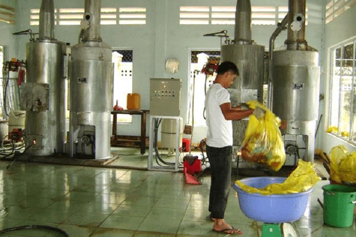 xử lý chất thải y tế