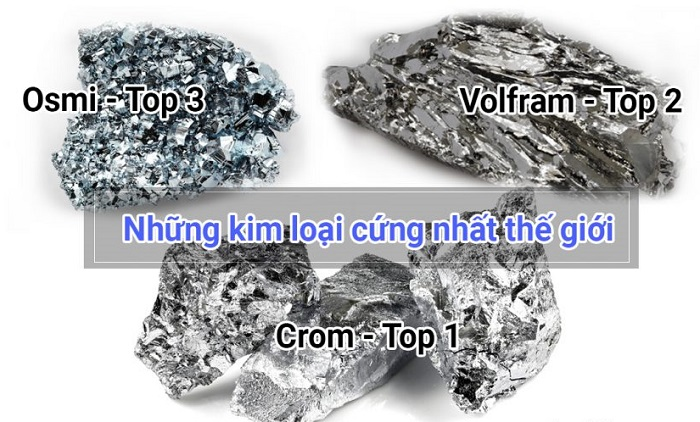 Kim loại cứng nhất thế giới