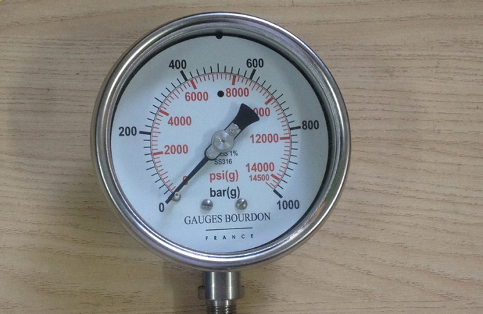 Đồng hồ áp suất thủy lực