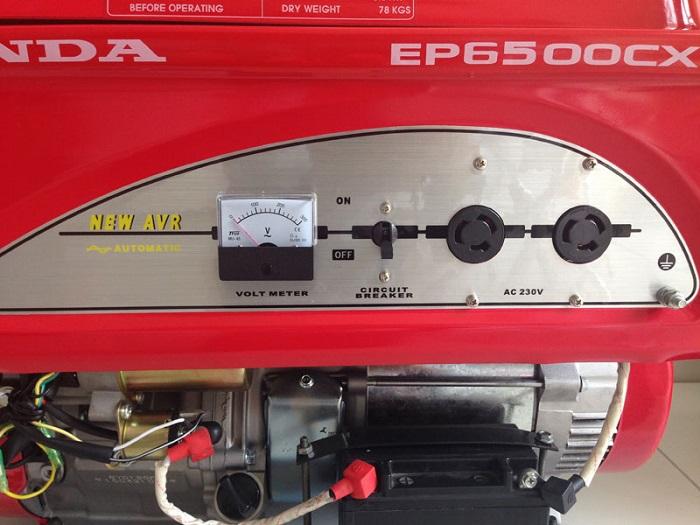 lỗi không lên điện áp máy phát điện honda