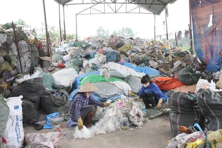 rác thải nilon