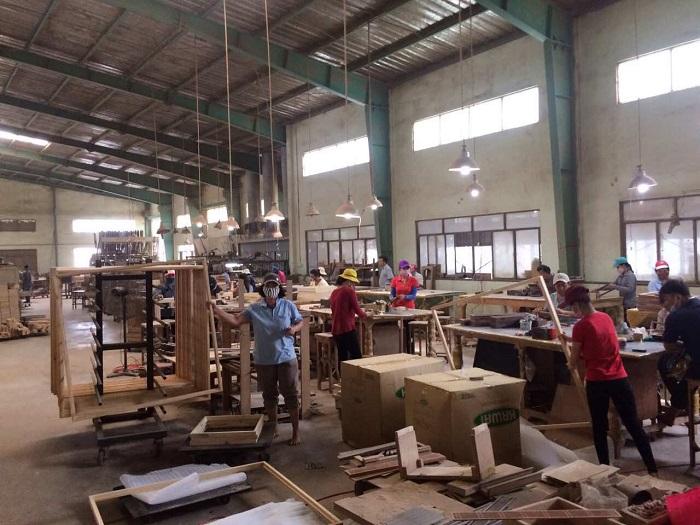 thanh lý máy móc xưởng gỗ