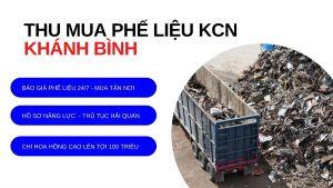 Thu mua phế liệu KCN khánh bình