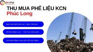 Thu mua phế liệu kcn Phước Long