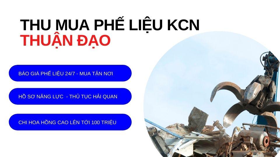 Thu mua phế liệu KCN Thuận Đạo