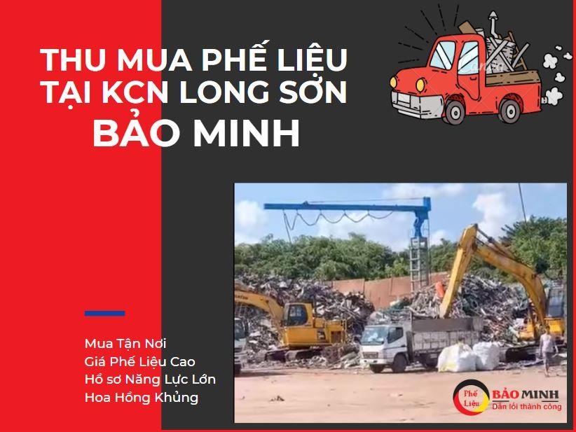 mua phế liệu KCN Long Sơn